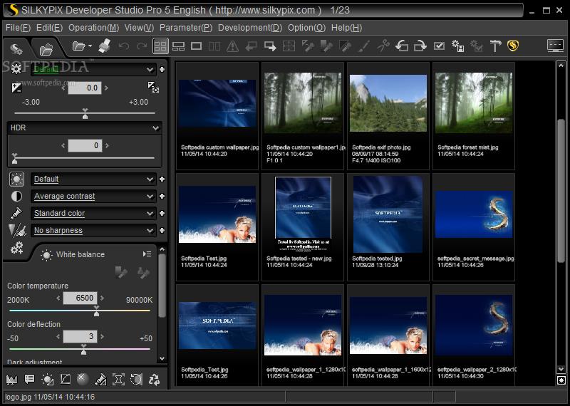 SILKYPIX PRO 1 دانلود SILKYPIX Developer Studio Pro 5 0 50 0 نرم افزار ویرایش تصاویر