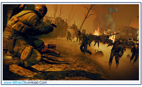 SNIPER ELITE NAZI ZOMBIE ARMY 2 3 دانلود بازی Sniper Elite Nazi Zombie Army 2 وحشت در برلین