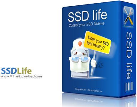 SSDLife بررسی سلامتی هارد دیسک  SSDLife Pro v2 5 67