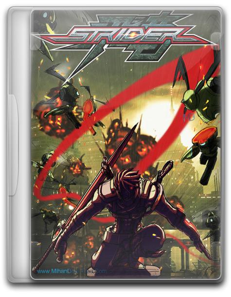 STRIDER 1 دانلود بازی نینجاهای حرفه ای STRIDER