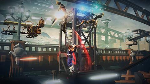 STRIDER 4 دانلود بازی نینجاهای حرفه ای STRIDER