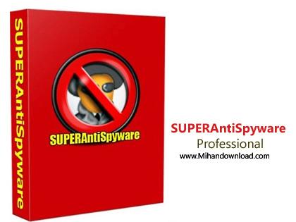 SUPERAntiSpyware Profession دانلود نرم افزار پاک سازی برنامه های جاسوسی SUPERAntiSpyware Pro v6.0.1252