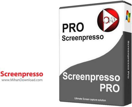 Screenpresso تصویر برداری از محیط ویندوز Screenpresso PRO 1 5 0 5