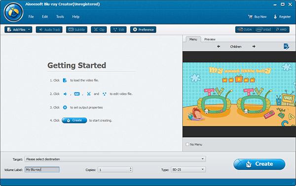 Screenshot.Aiseesoft.Blu ray.Creator 2 نرم افزار ساخت دیسکهای بلوری Aiseesoft Blu ray Creator 1 0 12