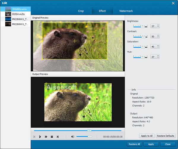 Screenshot.Aiseesoft.Blu ray.Creator 4 نرم افزار ساخت دیسکهای بلوری Aiseesoft Blu ray Creator 1 0 12