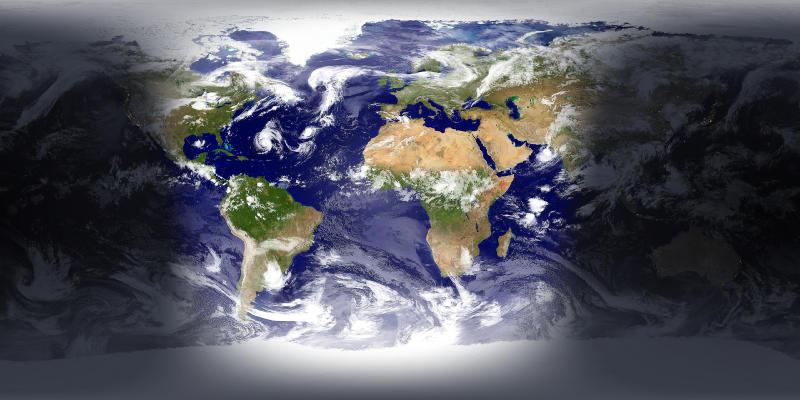 Screenshot.EarthView 2 نرم افزار مشاهده کره ی زمین در دسکتاپ EarthView