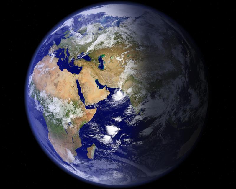 Screenshot.EarthView 3 نرم افزار مشاهده کره ی زمین در دسکتاپ EarthView