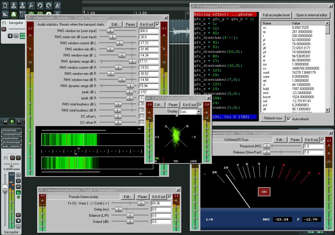 Screenshot.REAPER 3 دانلود Cockos REAPER 4.7 نرم افزار ویرایش و میکس فایلهای صوتی