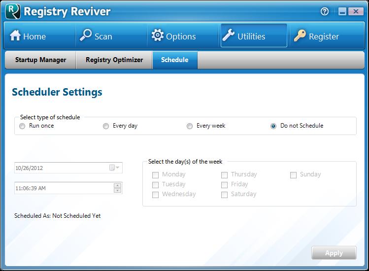 Screenshot.Registry.Reviver 1 نرم افزار پاکسازی و ترمیم رجیستری Registry Reviver 3 0 1 152