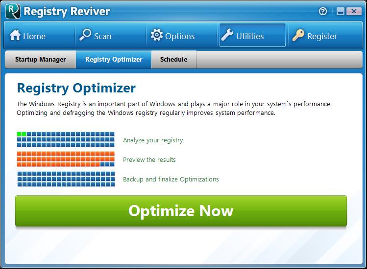 Screenshot.Registry.Reviver 6 نرم افزار پاکسازی و ترمیم رجیستری Registry Reviver 3 0 1 152