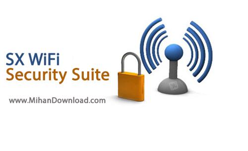 Security Suite دانلود نرم افزار امنیت شبکه های وای فای SX WiFi Security Suite v1 0