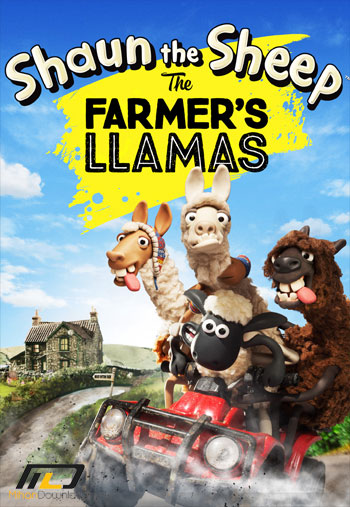 Shaun The Sheep The Farmers Llamas دانلود انیمیشن کوتاه  Shaun The Sheep The Farmers Llamas 2015