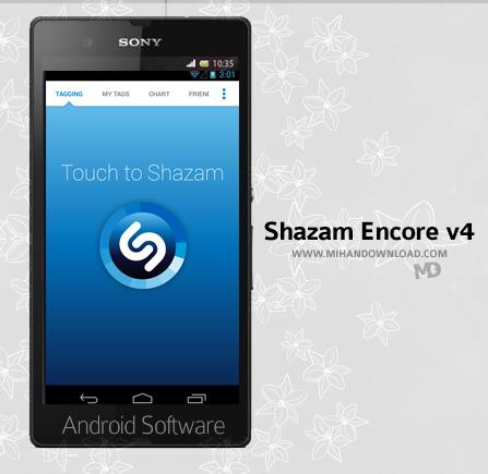 Shazam Encore v4.3 دانلود نرم افزار Shazam برای آندروید