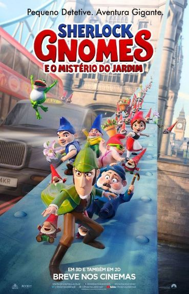 Sherlock Gnomes 2018 1 دانلود انیمیشن Sherlock Gnomes 2018