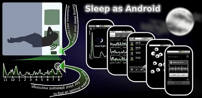Sleep Android دانلود نرم افزار خواب راحت Sleep as Android 20150909 build 1141 اندروید