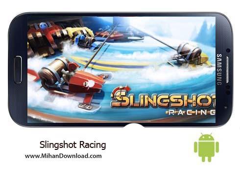 Slingshot Racing بازی رانندگی زمستانی Slingshot Racing نسخه کامل