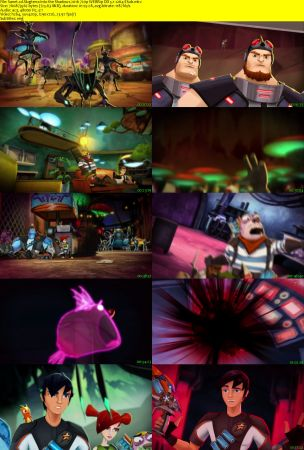 Slugterra Into the Shadows 2016 2 دانلود دوبله فارسی انیمیشن Slugterra: Into the Shadows
