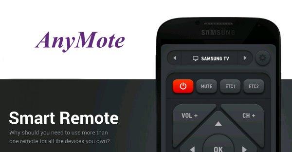 Smart IR Remote %E2%80%93 AnyMote دانلود نرم افزار کنترل از راه دور تلویزیون Smart IR Remote – AnyMote 3.2.7 اندروید