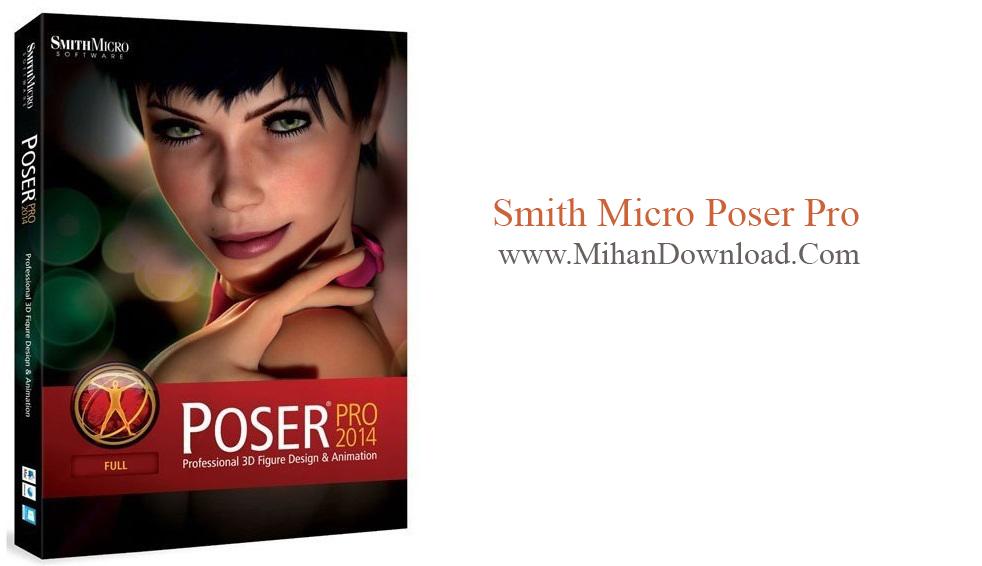 Smith1 دانلود نرم افزار ساخت کارکتر های 3 بعدی Smith Micro Poser Pro 11.0.5.32974