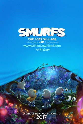 Smurfs The Lost Village 2017 icon دانلود انیمیشن Smurfs The Lost Village 2017
