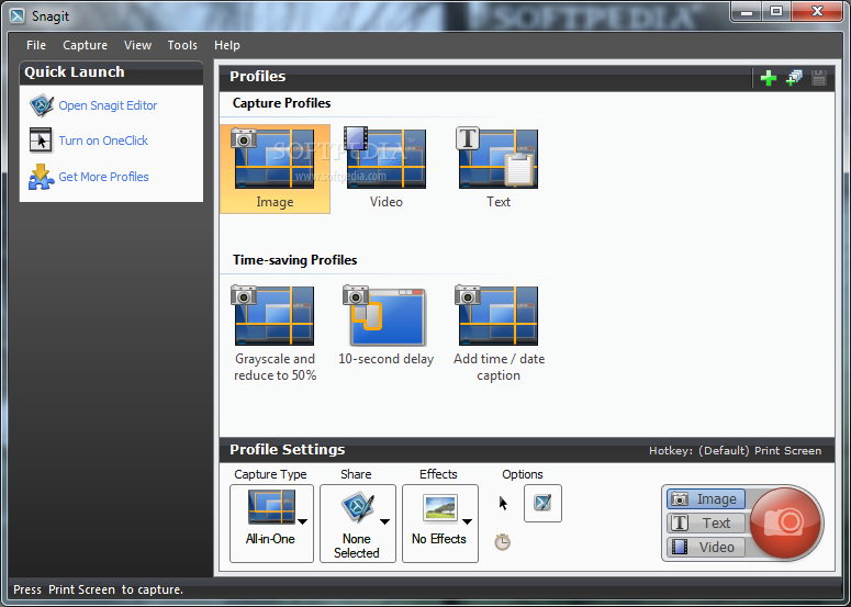 SnagIt 2 دانلود Snagit 12.1.0.1322 نرم افزار عکس و فیلم برداری از صفحه نمایش