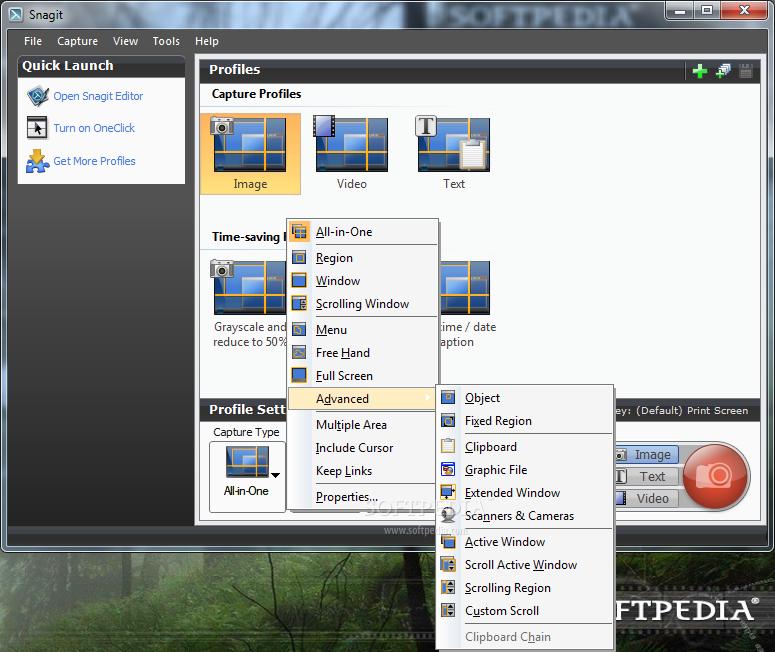 SnagIt 3 دانلود Snagit 12.1.0.1322 نرم افزار عکس و فیلم برداری از صفحه نمایش