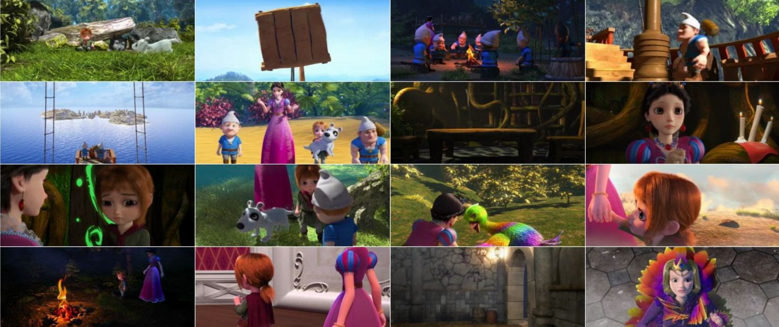 Snow White's New Adventure 2016 2 دانلود انیمیشن ماجراهای سفیدبرفی با دوبله فارسی