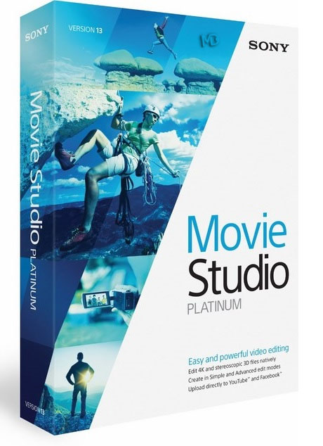 Sony Movie Studio Platinum نرم افزار ویرایش فیلم Sony Movie Studio Platinum 13 0 Build 931/932