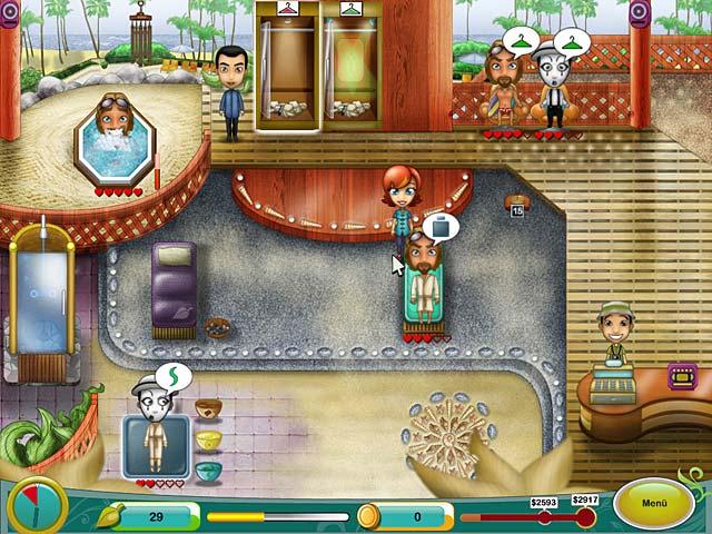 Spa Mania 2 screen دانلود بازی Spa Mania 2 برای کامپیوتر