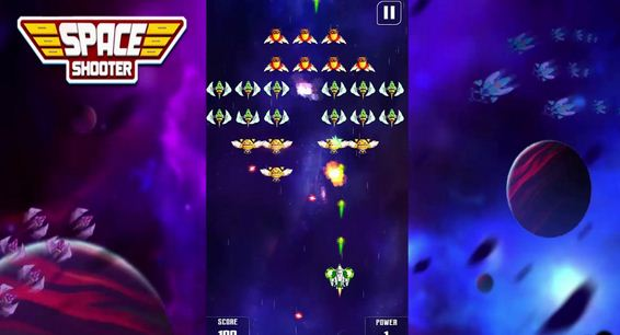 Space Shooter Galaxy Shooting 1 دانلود بازی Space Shooter : Galaxy Shooting برای آندروید