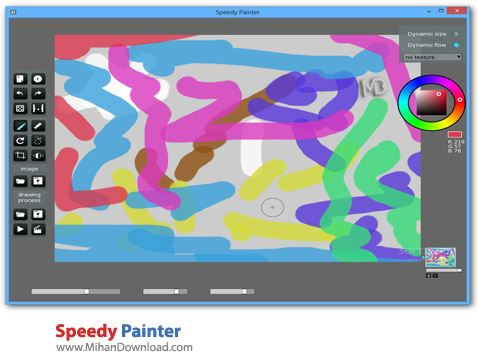 Speedy Painter نرم افزار کشیدن نقاشی Speedy Painter 3 2 6 Final