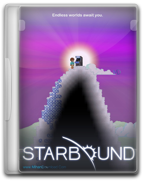 Starbound Early Access 1 دانلود بازی Starbound Early Access