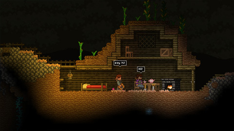 Starbound Early Access 3 دانلود بازی Starbound Early Access