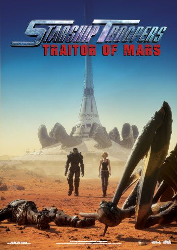 Starship Troopers Traitor of Mars 2017 1 دانلود انیمیشن Starship Troopers: Traitor of Mars 2017