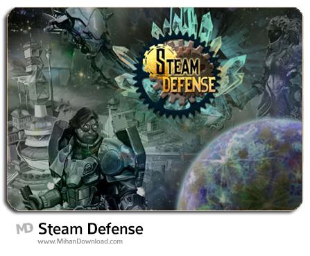 Steam Defense دانلود بازی دفاع از قلعه Steam Defense