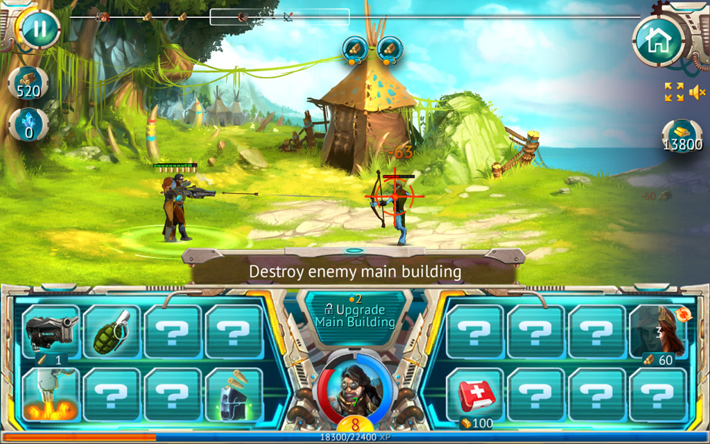 Steam Defense screen دانلود بازی دفاع از قلعه Steam Defense