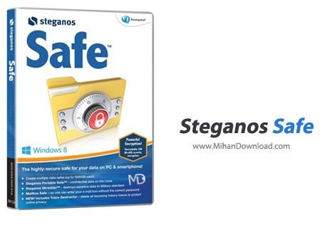 Steganos دانلود نرم افزار محافظت از اطلاعات Steganos Safe