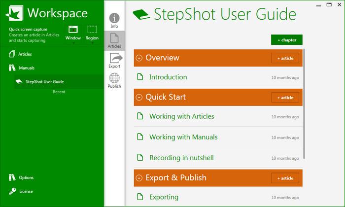 StepShot  دانلود StepShot 3.5.23.1300 نرم افزار عکسبرداری از صفحه نمایش