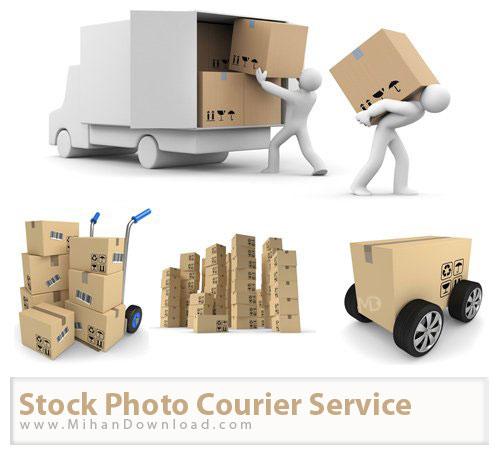 Stock Photo Courier Service دانلود عکس با کيفيت خدمات پیک Stock Photos Courier Service