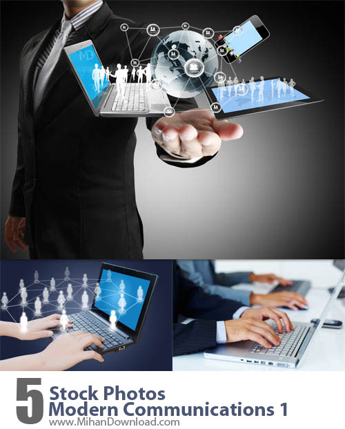 Stock Photos Modern Communications 1 دانلود Stock Photos Modern Communications عکس ارتباطات مدرن