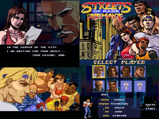 Streets of rage remake 02 دانلود نسخه ی جدید بازی محبوب Street Of Rage REMAKE برای کامپیوتر