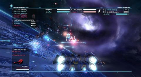 Strike Suit Zero Directors Cut 4 دانلود بازی نجات زمین Strike Suit Zero Directors Cut