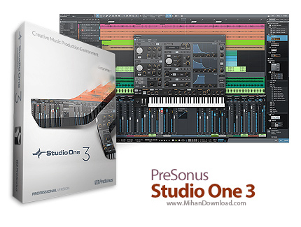 Studio One icon دانلود Studio One نرم افزار ضبط و ویرایش موزیک