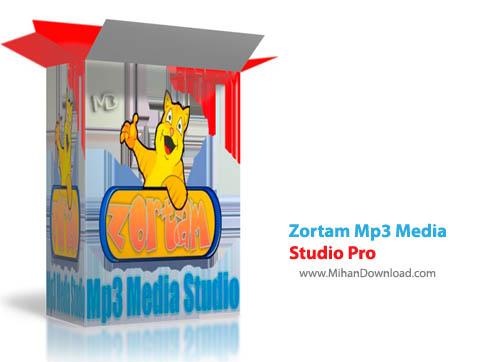 Studio Pro نرم افزار مدیریت فایلهای ام پی تری Zortam Mp3 Media Studio Pro 17 70 Final