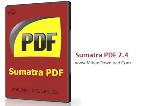 Sumatra PDF 2.2.6825 www دانلود Sumatra PDF 2 4 Final نرم افزار مشاهده فایلهای پی دی اف