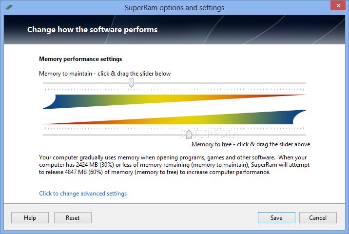 SuperRam 3 دانلود PGWare SuperRam 6.7.21.2014 نرم افزار بهینه سازی رم