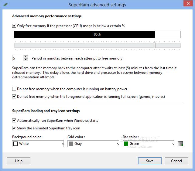 SuperRam 6 دانلود PGWare SuperRam 6.7.21.2014 نرم افزار بهینه سازی رم