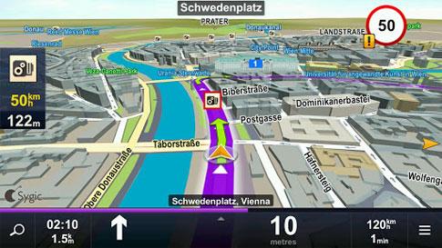 Sygic GPS Navigation 5 نرم افزار جی پی اس