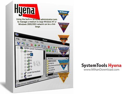 SystemTools دانلود SystemTools Hyena v11.2.0