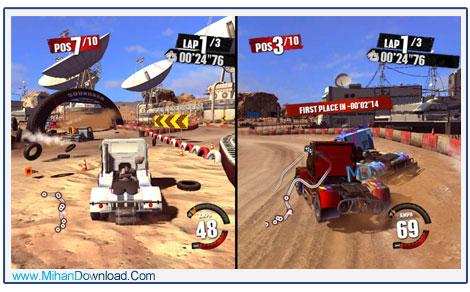TRUCK RACER 4 دانلود بازی Truck Racer جنون سرعت
